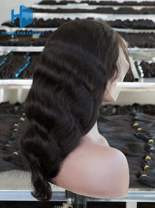 Wholesale 180% Body Wave HD Full Lace Wig With Pre-plucked Hair Line
