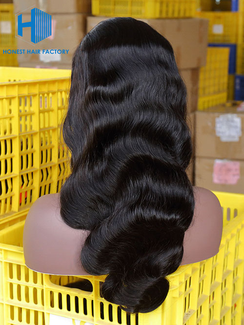 Wholesale Body Wave BOBO Frontal Lace Wig With Pre-plucked Hair Line